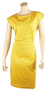 Derek Lam short dress Yellow on Tradesy