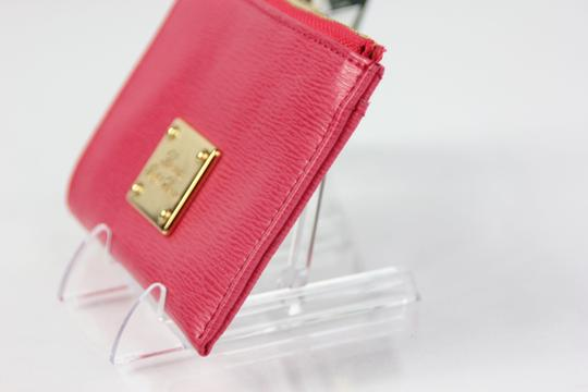 Ralph Lauren * Ralph Lauren Key/Coin Boxed Leather Wallet - Pink