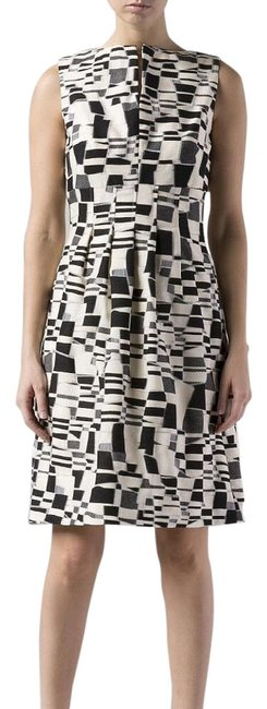 Preload https://img-static.tradesy.com/item/3995377/lela-rose-black-cream-white-workoffice-dress-size-2-xs-0-2-650-650.jpg