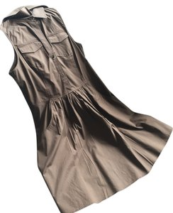 Theory short dress Brown, Chocolate on Tradesy