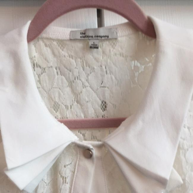The Clothing Company Top White