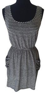 Blu Heaven short dress Grey/black on Tradesy