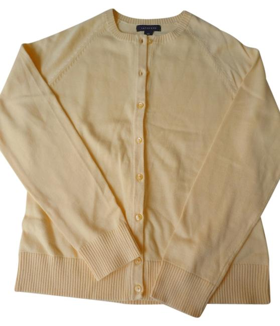 Preload https://item4.tradesy.com/images/lands-end-yellow-cotton-cardigan-size-2-xs-3995578-0-0.jpg?width=400&height=650