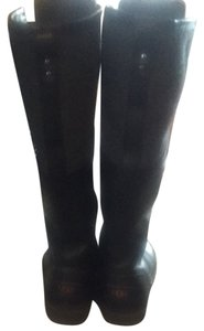 UGG Australia Tall Full Length Ugg Grey And Black Boots