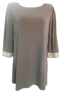 Laundry by Shelli Segal Beaded Cut-out Dress