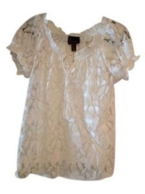 Preload https://img-static.tradesy.com/item/39958/ivory-lace-with-built-in-cami-blouse-size-8-m-0-0-650-650.jpg