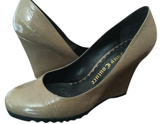 Juicy Couture Gray/taupe Wedges