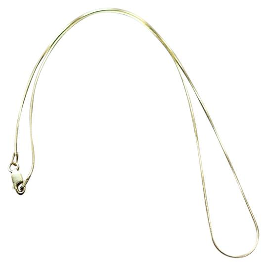 """Other Gold plated sterling silver 16"""" chain"""