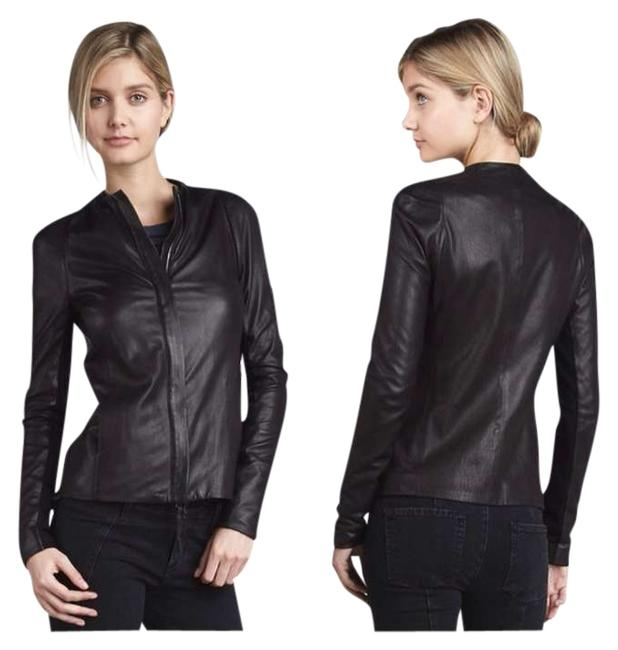Vince Leather Leather Jacket