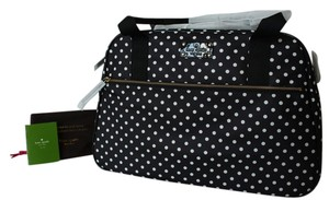 Kate Spade BLACK/CREAM HERITAGE SPOT Diaper Bag