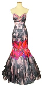 Jovani Prom Homecomig Lace Up Mermaid Dress