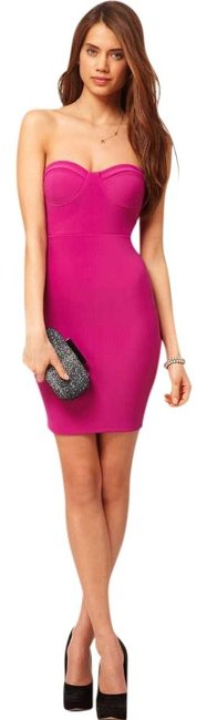 Preload https://img-static.tradesy.com/item/399696/asos-purple-bandeau-with-strappy-back-above-knee-cocktail-dress-size-2-xs-0-0-650-650.jpg