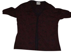 Fashion Bug Top Burgundy