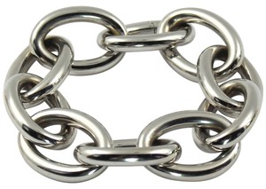 Other White Gold Cable Link Bracelet