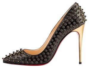 Christian Louboutin Pigalle Studs Studded Black Pumps