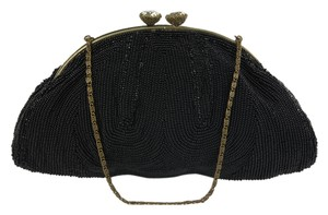 Ed B Robinson Coin Small Beaded Shoulder Bag