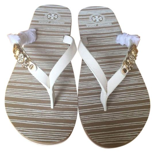 Preload https://item2.tradesy.com/images/tory-burch-ivory-kiley-flip-flop-sandals-size-us-5-regular-m-b-3997531-0-2.jpg?width=440&height=440