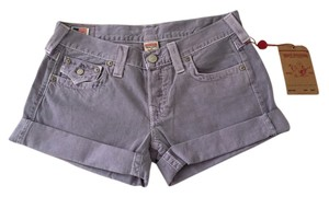 True Religion Mini/Short Shorts Purple haze