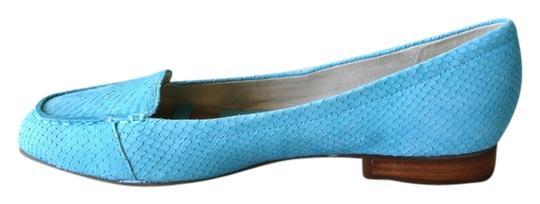 Preload https://item1.tradesy.com/images/anne-klein-turquoise-flex-flats-size-us-75-regular-m-b-3998065-0-0.jpg?width=440&height=440