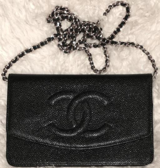 Chanel Woc Wallet On A Chain Timeless Classic Flap Mini Cross Body Bag Image 9