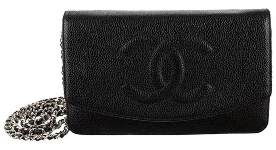 7501f0d972a1 Chanel Woc Wallet On A Chain Timeless Classic Flap Mini Cross Body Bag  Image 0 ...