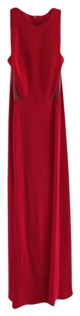 Preload https://item5.tradesy.com/images/red-sheer-panel-gown-formal-dress-size-6-s-3998269-0-0.jpg?width=400&height=650