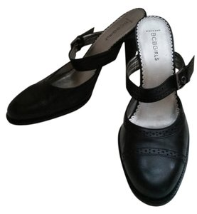 BCBGeneration Leather Black Mules