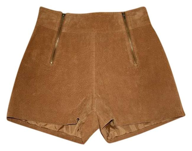 Item - Tan High-waisted Shorts Size 0 (XS, 25)