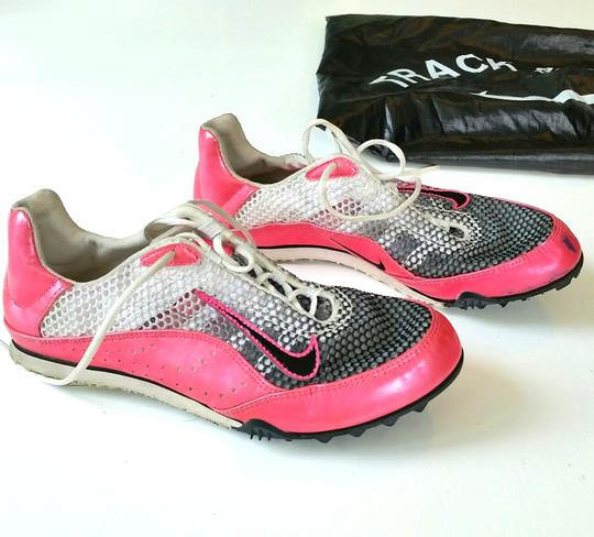 Nike Cleats Track Field Spare Spikes Pink Athletic