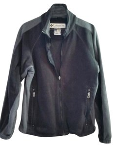 Colombia Sportswear Fleece Black Grey Men's Jacket