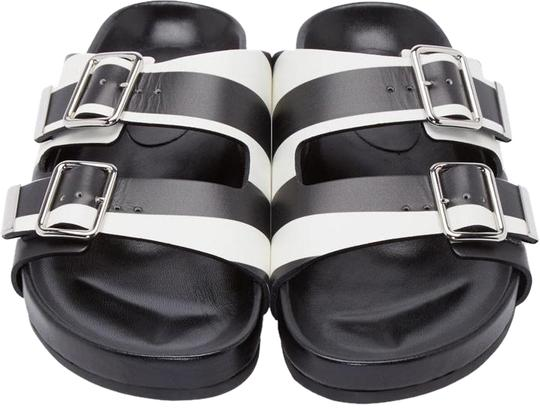 Givenchy Black/White Sandals