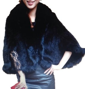 Shanghi Knitted Mink New Cape