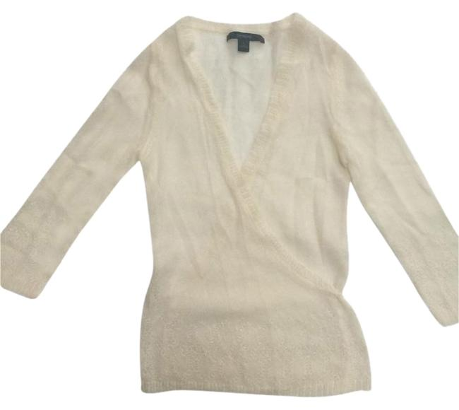 Express Embellished Wool Soft Beads Sparkle Sweater