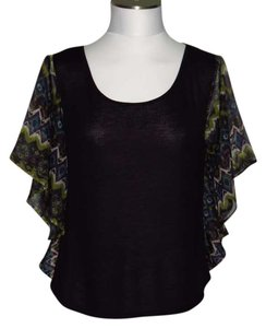 Derek Heart Top Black