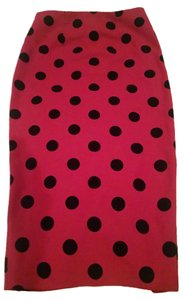 ASOS Skirt Red and Black