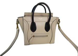 Cline Cream Messenger Bag