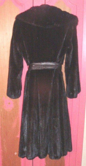 Oleg Cassini Full Length Mink Fur Coat