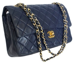 Chanel Jumbo Quilted Leather Maxi Shoulder Bag