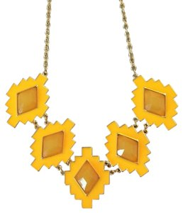 Other Yellow Aztec Necklace