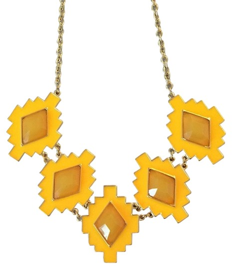 Preload https://item1.tradesy.com/images/other-yellow-aztec-necklace-4000645-0-0.jpg?width=440&height=440