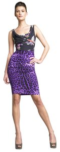 Dolce&Gabbana Dolce & Gabbana Dolce & Gabban Floral And Leopard Leopard Dress