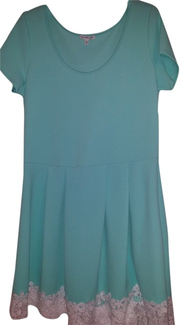 Charlotte Russe short dress Turquoise on Tradesy