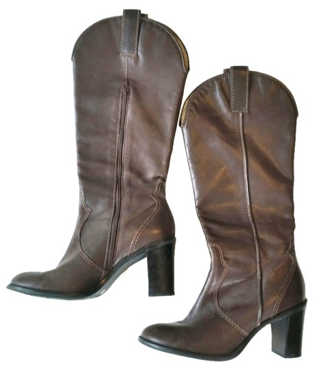 Preload https://item5.tradesy.com/images/franco-sarto-knee-high-riding-zip-up-brown-boots-4000849-0-0.jpg?width=440&height=440