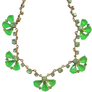 J.Crew Neon Green J.Crew Necklace