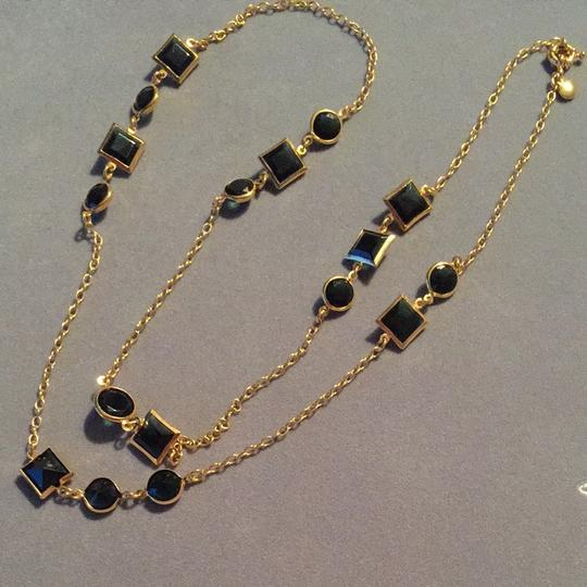 J.Crew Black And Gold Necklace