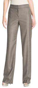 St. John Trouser Pants Walnut and Caviar