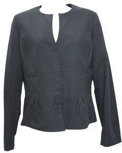 Elie Tahari Stretch Cotton Jacket Blazer