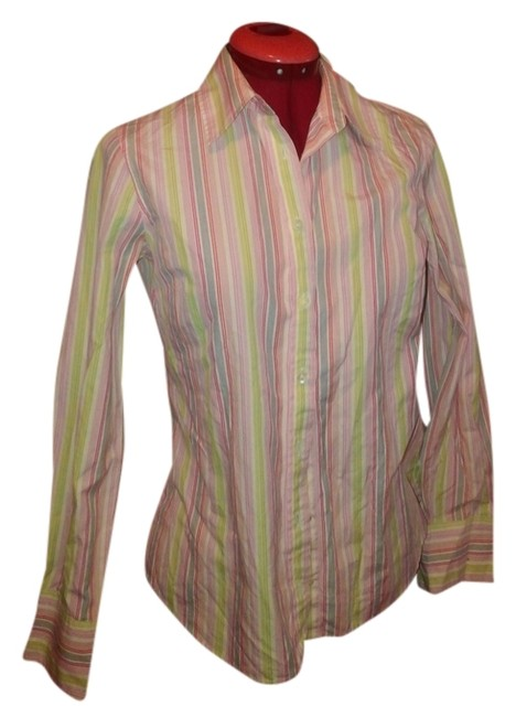 J.Crew Button Down Shirt multi color