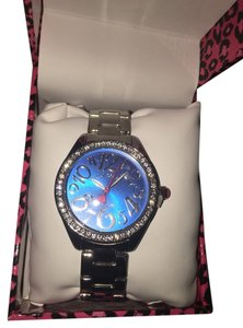 Betsey Johnson Betsey Johnson Stainless Steel Bracelet Watch BJ00477-02