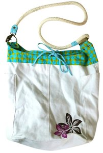Other Canvas Flower Beach Hawaiian Multi Hobo Bag